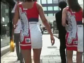 ギャル 盗撮 |バドコスのミニスカギャルを赤外線盗撮